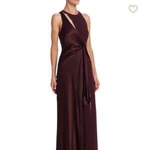 Cinq A Sept Clemence silk gown size 4
